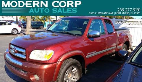 2005 Toyota Tundra for sale at Modern Auto Sales in Fort Myers FL