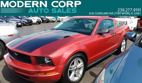 2008 Ford Mustang for sale at Modern Auto Sales in Fort Myers FL