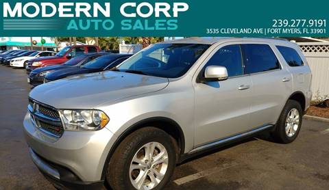 2012 Dodge Durango for sale in Fort Myers, FL