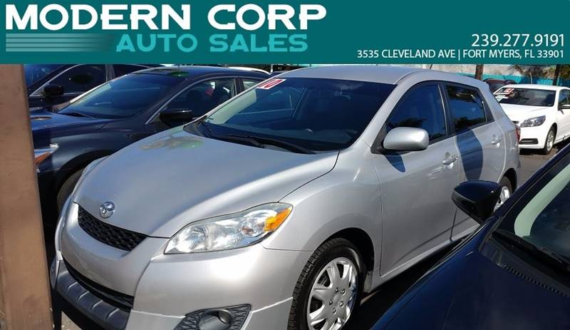 2010 Toyota Matrix for sale at Modern Auto Sales in Fort Myers FL