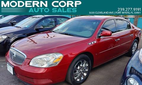2009 Buick Lucerne for sale at Modern Auto Sales in Fort Myers FL