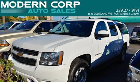 2012 Chevrolet Suburban for sale at Modern Auto Sales in Fort Myers FL