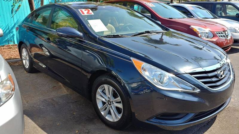 2012 Hyundai Sonata for sale at Modern Auto Sales in Fort Myers FL