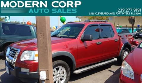 2008 Ford Explorer Sport Trac for sale at Modern Auto Sales in Fort Myers FL
