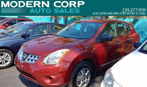 2012 Nissan Rogue for sale at Modern Auto Sales in Fort Myers FL