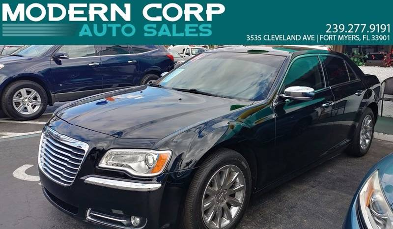 2012 Chrysler 300 for sale at Modern Auto Sales in Fort Myers FL