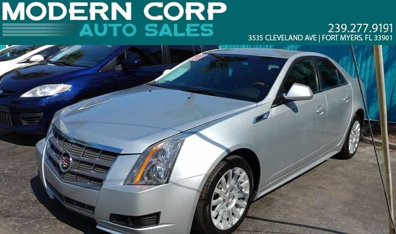 2011 Cadillac CTS 3.0L Luxury 4dr Sedan - Fort Myers FL