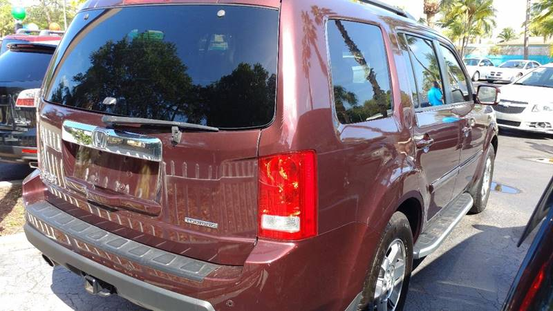 2009 Honda Pilot Touring 4dr SUV w/Navi and DVD - Fort Myers FL
