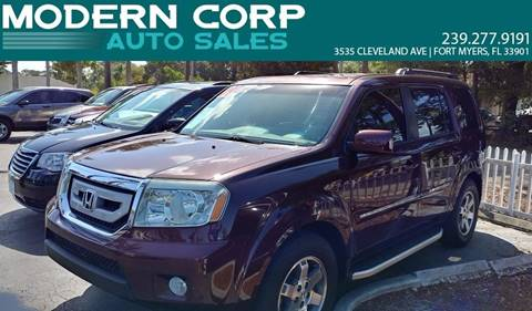 2009 Honda Pilot for sale at Modern Auto Sales in Fort Myers FL