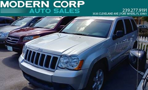 2010 Jeep Grand Cherokee for sale at Modern Auto Sales in Fort Myers FL