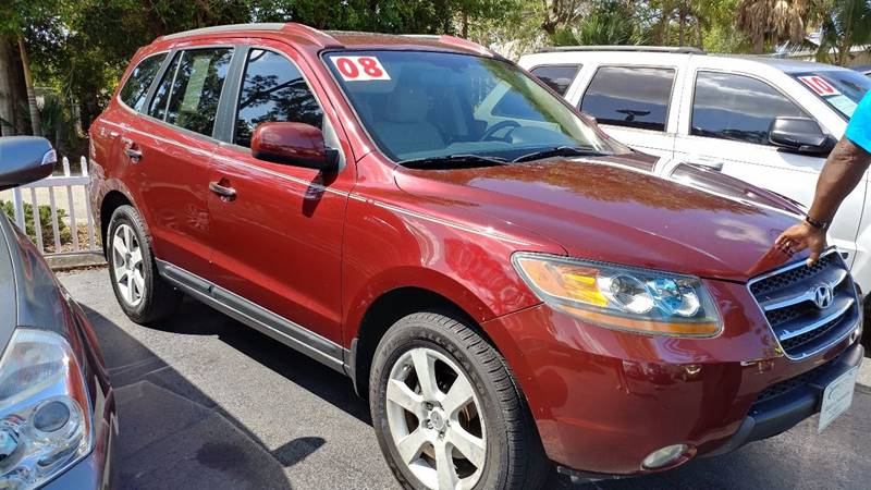 2008 Hyundai Santa Fe for sale at Modern Auto Sales in Fort Myers FL