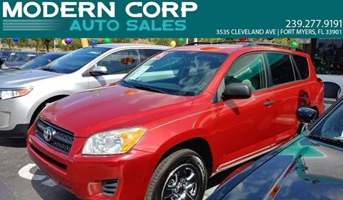 2012 Toyota RAV4 for sale at Modern Auto Sales in Fort Myers FL