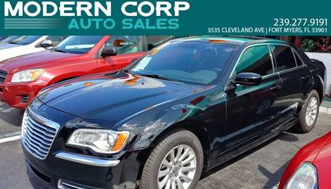 2013 Chrysler 300 for sale at Modern Auto Sales in Fort Myers FL