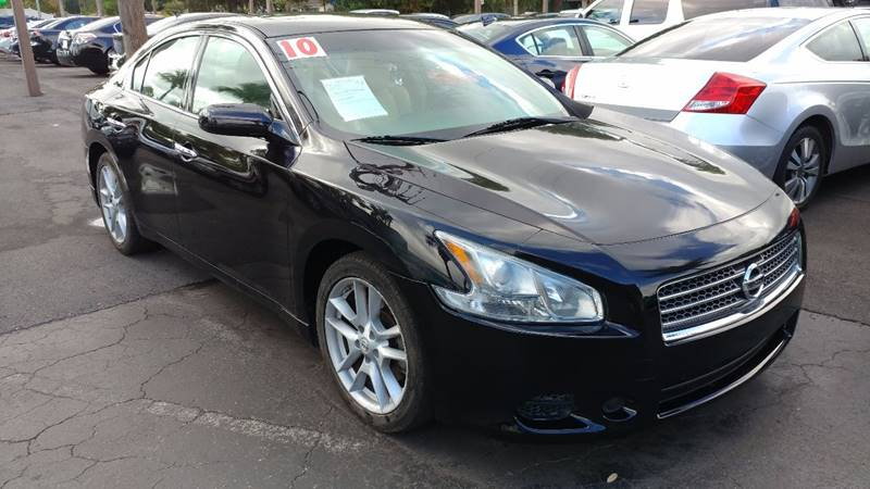 2010 Nissan Maxima for sale at Modern Auto Sales in Fort Myers FL
