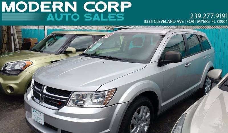 2013 Dodge Journey for sale at Modern Auto Sales in Fort Myers FL