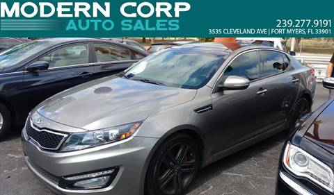 2013 Kia Optima for sale at Modern Auto Sales in Fort Myers FL