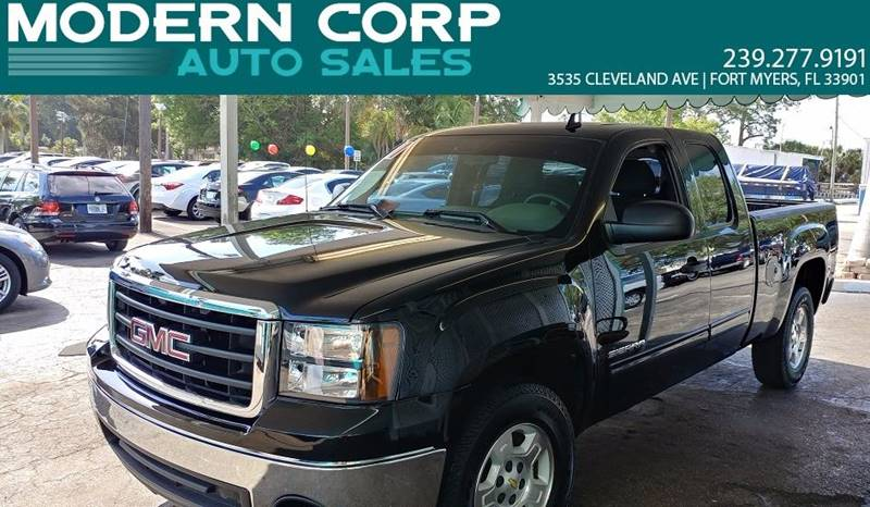 2011 GMC Sierra 1500 for sale at Modern Auto Sales in Fort Myers FL
