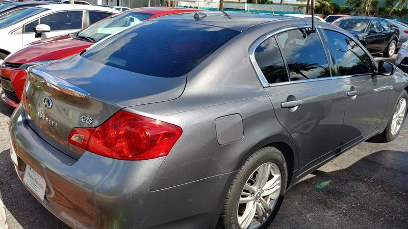 2011 Infiniti G25 Sedan Journey 4dr Sedan - Fort Myers FL