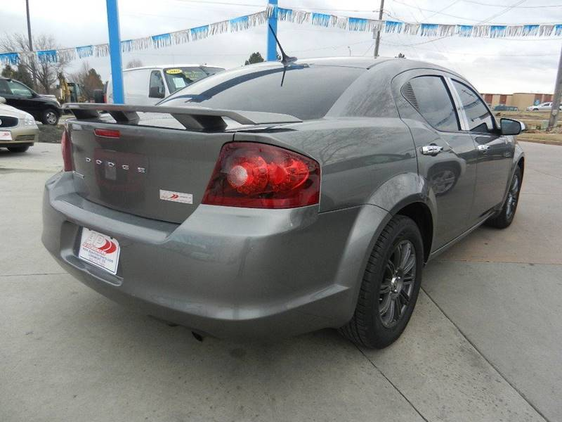 2013 Dodge Avenger SE 4dr Sedan - Longmont CO