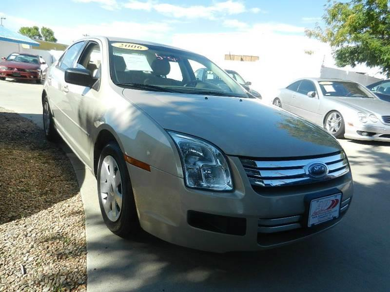 2006 Ford Fusion I4 S 4dr Sedan - Longmont CO