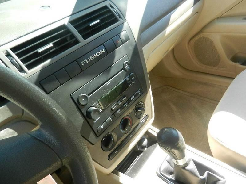 2006 Ford Fusion I4 S 4dr Sedan - Longmont CO