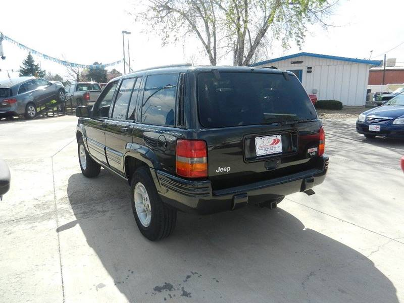 1998 Jeep Grand Cherokee 4dr Limited 4WD SUV - Longmont CO