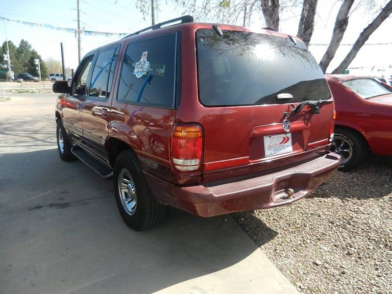 1998 Mercury Mountaineer AWD 4dr SUV - Longmont CO