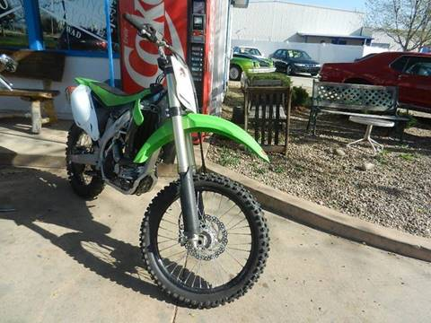2012 Kawasaki KX450F for sale in Longmont, CO