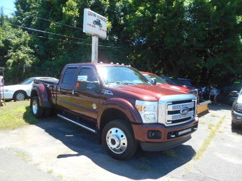 2016 Ford F-450 Super Duty for sale at Guilford Auto in Guilford CT
