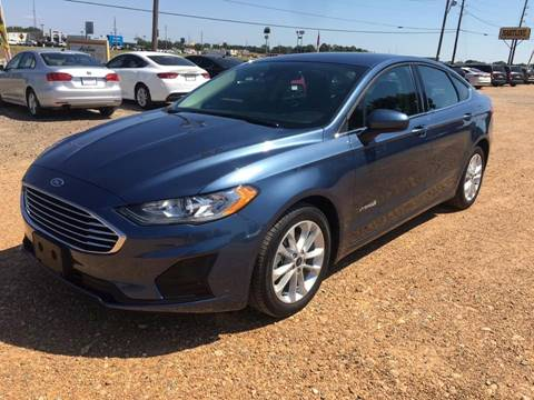 2019 Ford Fusion Hybrid for sale in New Boston, TX