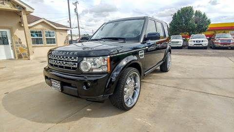 2011 Land Rover LR4 for sale in Amarillo, TX