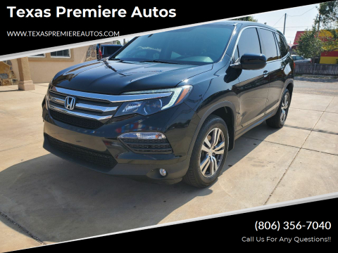 2016 Honda Pilot for sale at Texas Premiere Autos in Amarillo TX