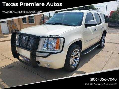 2012 GMC Yukon for sale at Texas Premiere Autos in Amarillo TX