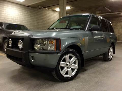2003 Land Rover Range Rover for sale at Supreme Carriage in Wauconda IL