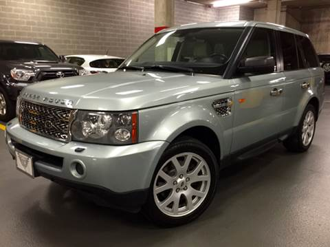 2008 Land Rover Range Rover Sport for sale at Supreme Carriage in Wauconda IL
