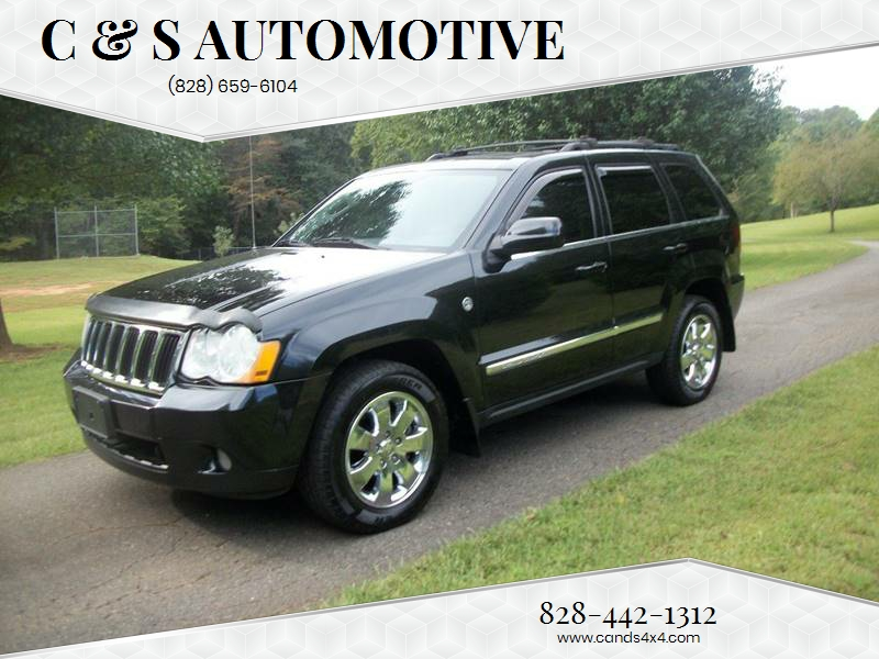 2009 Jeep Grand Cherokee For Sale At C U0026 S Automotive In Nebo NC