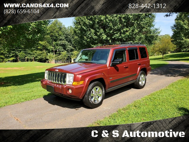 2007 Jeep Commander for sale at C & S Automotive in Nebo NC