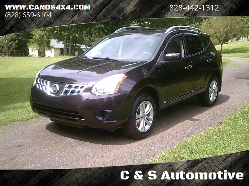 2012 Nissan Rogue for sale at C & S Automotive in Nebo NC