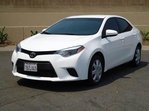 2014 Toyota Corolla for sale at Moon Auto Sales in Sacramento CA