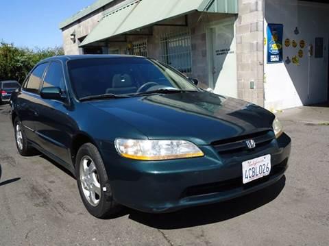 1998 Honda Accord for sale at Moon Auto Sales in Sacramento CA