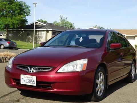 2005 Honda Accord for sale at Moon Auto Sales in Sacramento CA
