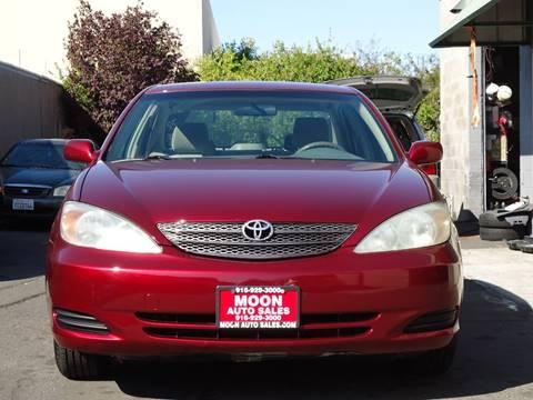 2002 Toyota Camry For Sale >> 2002 Toyota Camry For Sale In Sacramento Ca