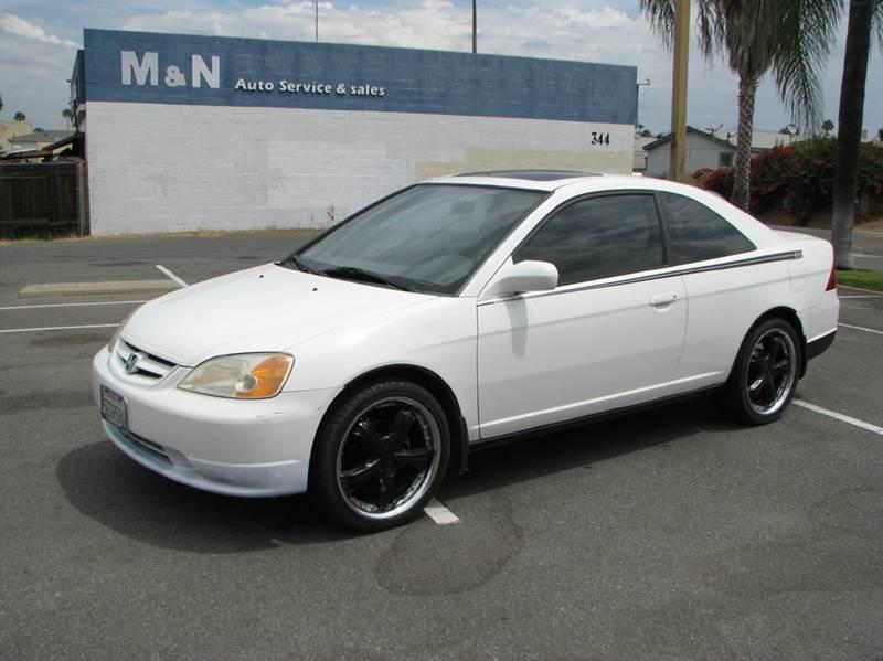 Good 2003 Honda Civic EX 2dr Coupe   El Cajon CA