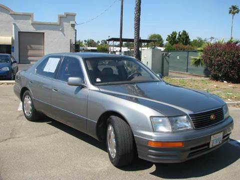 Lexus ls 400 for sale carsforsale 1996 lexus ls 400 for sale in el cajon ca publicscrutiny Gallery