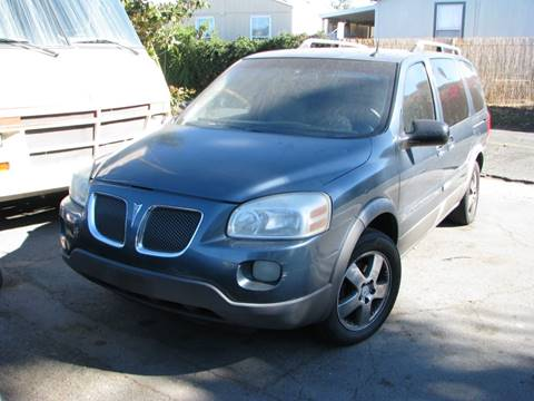 2005 Pontiac Montana SV6 for sale in El Cajon, CA
