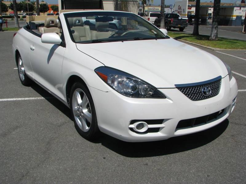 2008 Toyota Camry Solara Sle V6 2dr Convertible 5a In El