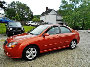 2008 Kia Spectra for sale at Premiere Auto Sales in Washington PA