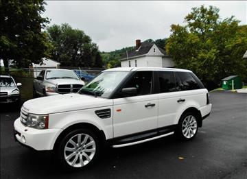 2006 Land Rover Range Rover Sport for sale at Premiere Auto Sales in Washington PA