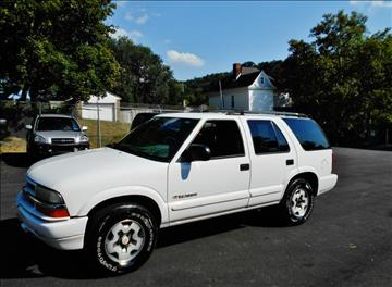 2004 Chevrolet Blazer for sale at Premiere Auto Sales in Washington PA