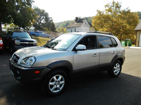 2005 Hyundai Tucson for sale at Premiere Auto Sales in Washington PA